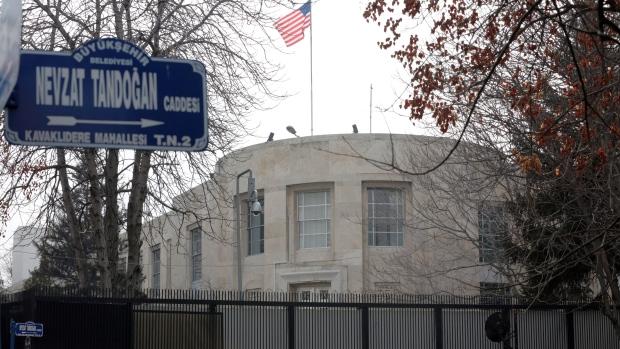 US Embassy in Turkey shut for security threat