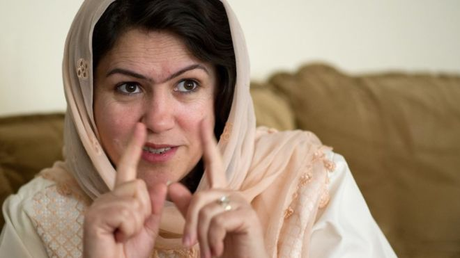 The woman who negotiated with the Taliban for Afghan peace