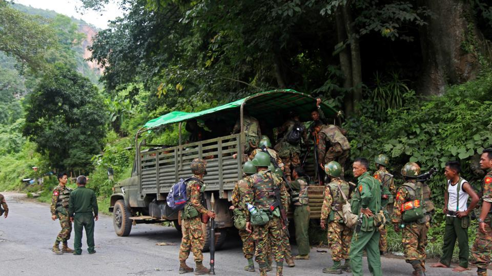 14 killed in attack by insurgents from Myanmar