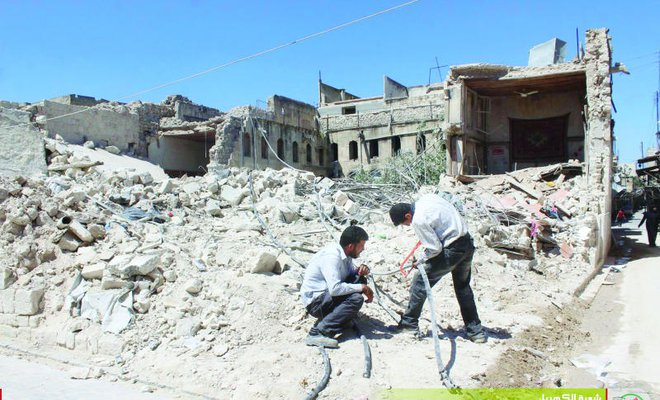 Syria regime launches 3rd chemical attack