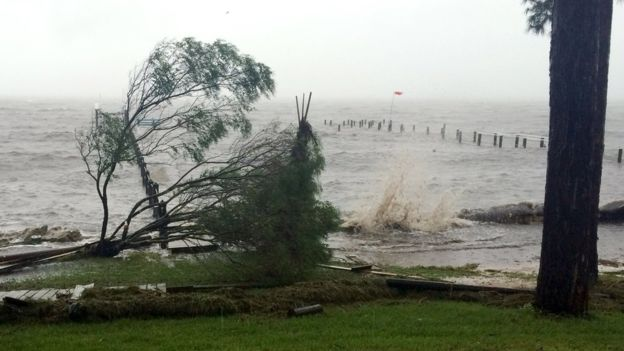 Hurricane Hermine hits Florida, US