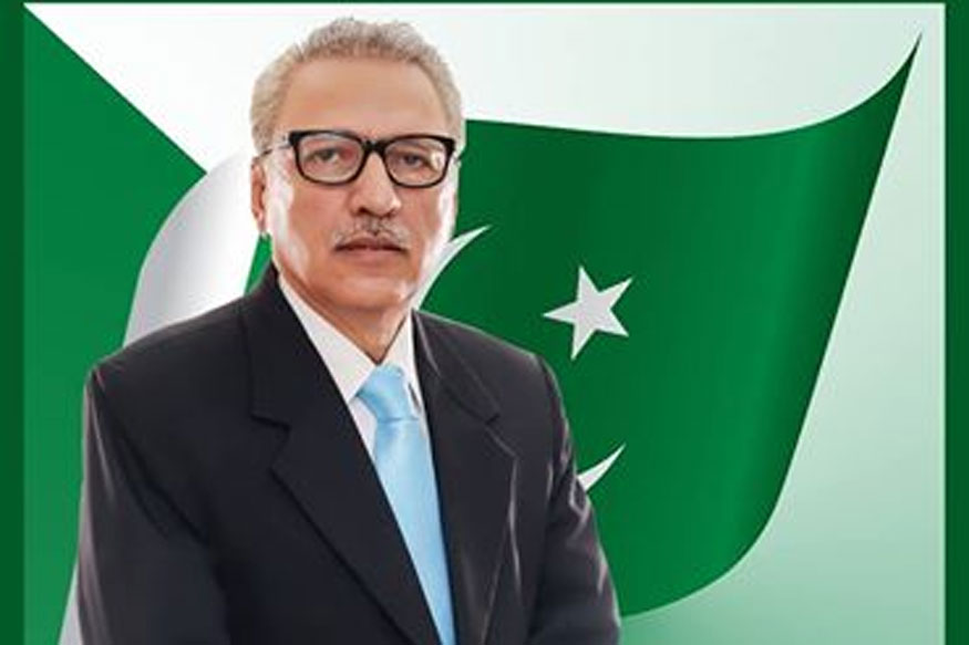 Pak President Arif Alvi gets notice from Twitter over post on Kashmir