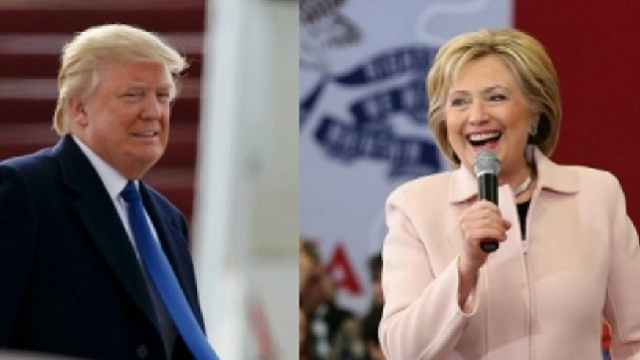 Clinton lead over Trump drops to just one percent: Survey