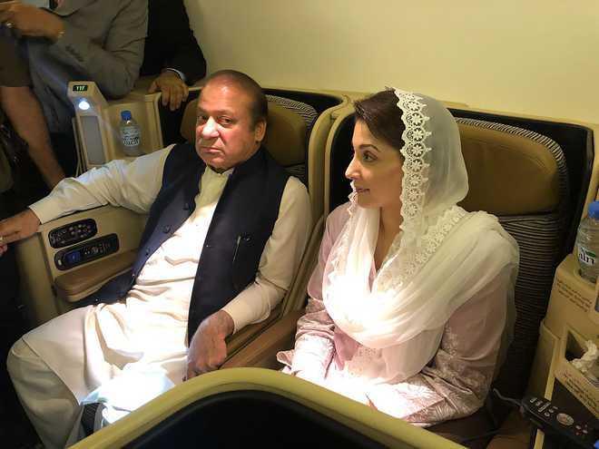Nawaz Sharif, daughter granted parole to attend Kulsoom