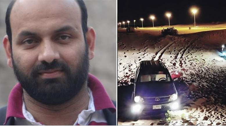 UAE police officers rescue stranded Indian motorist twice