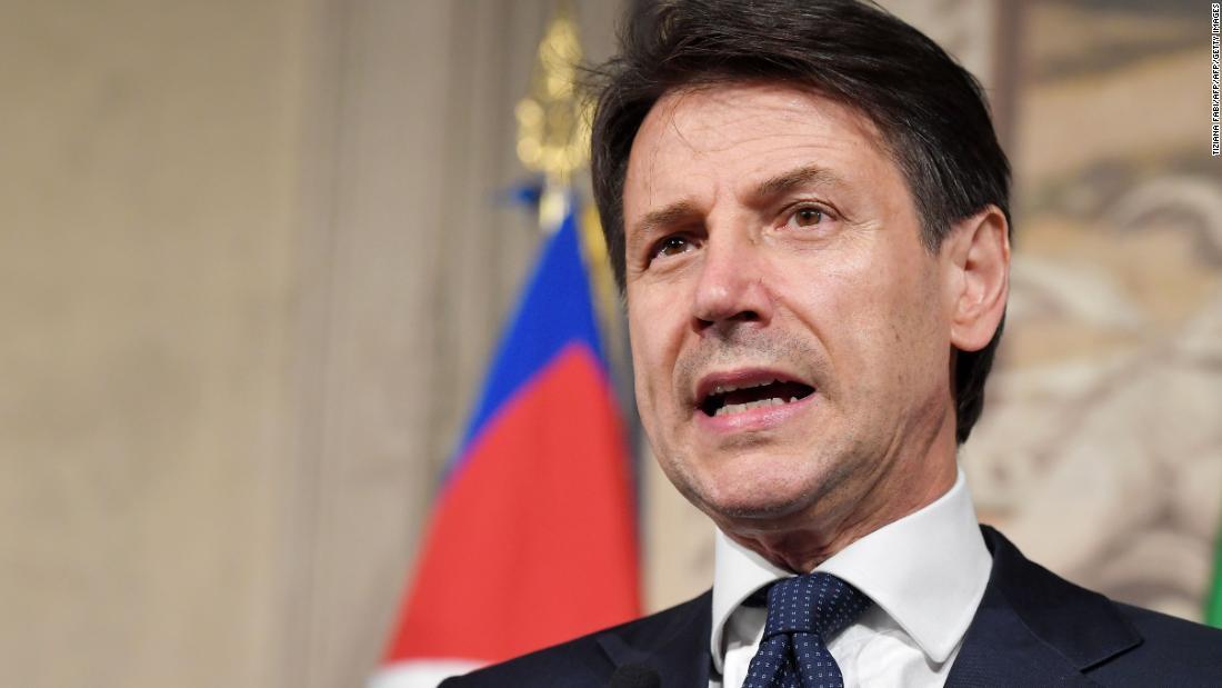 Giuseppe Conte sworn in as Italian Prime Minister to new populist govt