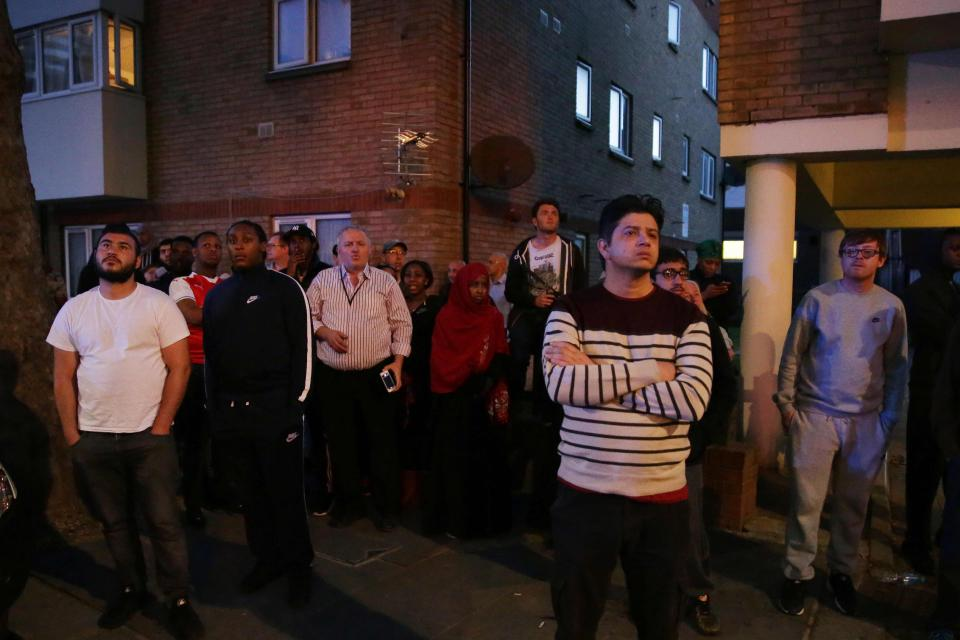Desperate parents threw kids out of windows, say London fire witnesses