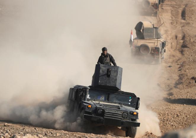 iraqiforcespunchintowesternmosullaunchairstrikesinsyria