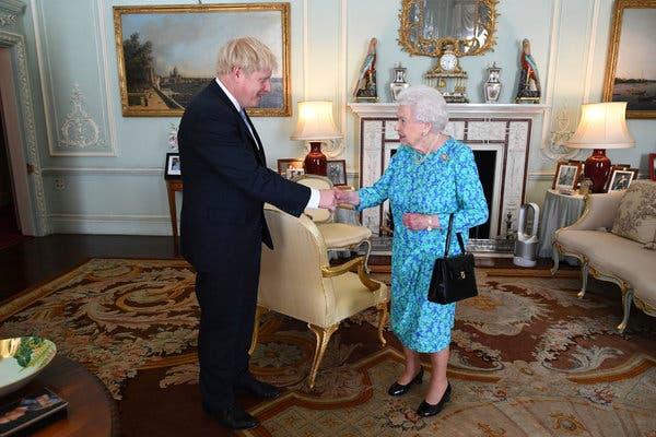 Boris Johnson takes charge as British PM