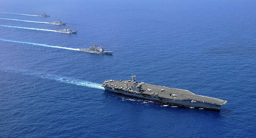 Britain, Germany, France express concern over tense situation in South China Sea