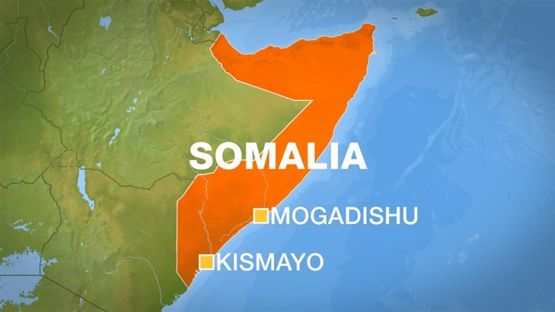 7 People killed in suicide bomb and gun attack in Kismayo, Somalia