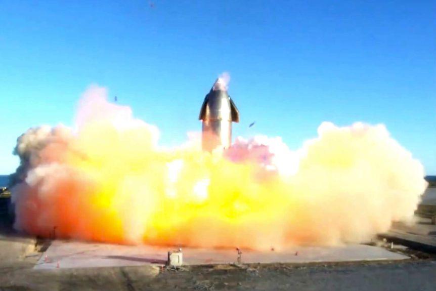 spacexmarsprototyperocketexplodesuponlanding