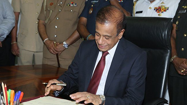 Sri Lankan defence secy resigns over Easter blasts