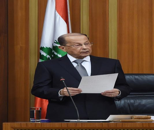 after890days…'thegeneral'becomeslebanon'spresident