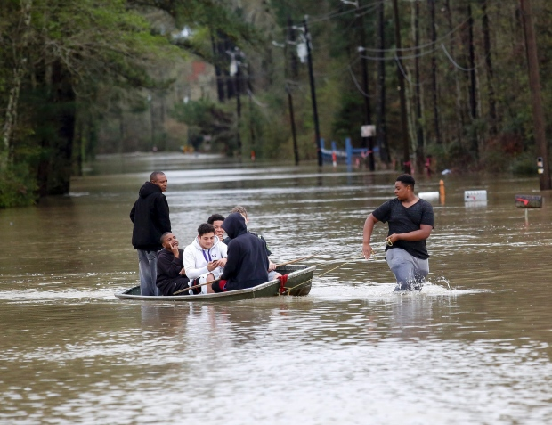 At least 4 people killed in floods in Louisiana, US