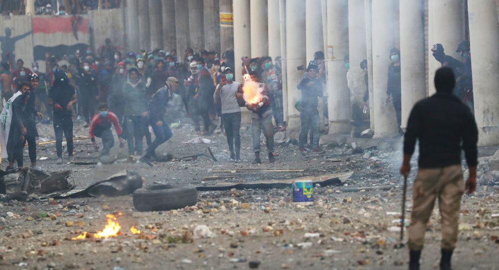 45protestersshotdead152otherswoundedinescalatingiraqiunrest