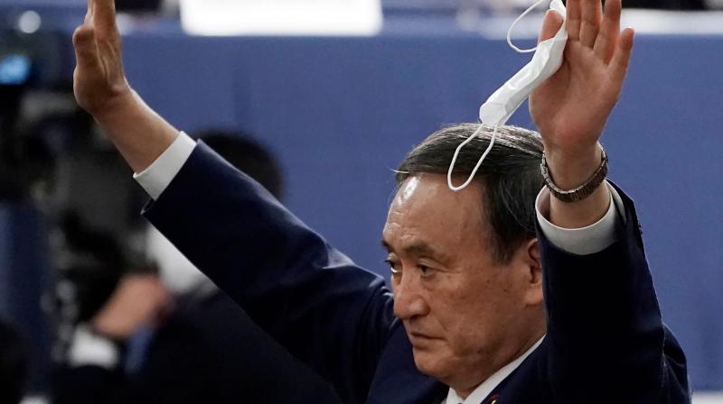 japansrulingpartyelectsyoshihidesugaasitsnewleader