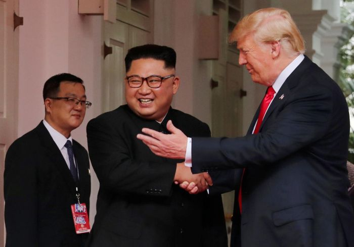 Trump describes his meeting with Kim as