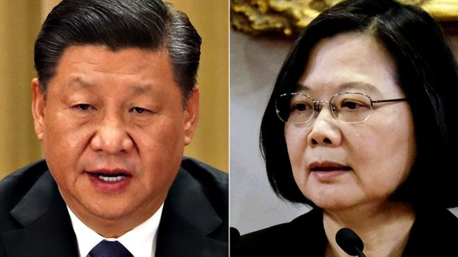 Xi Jinping says Taiwan