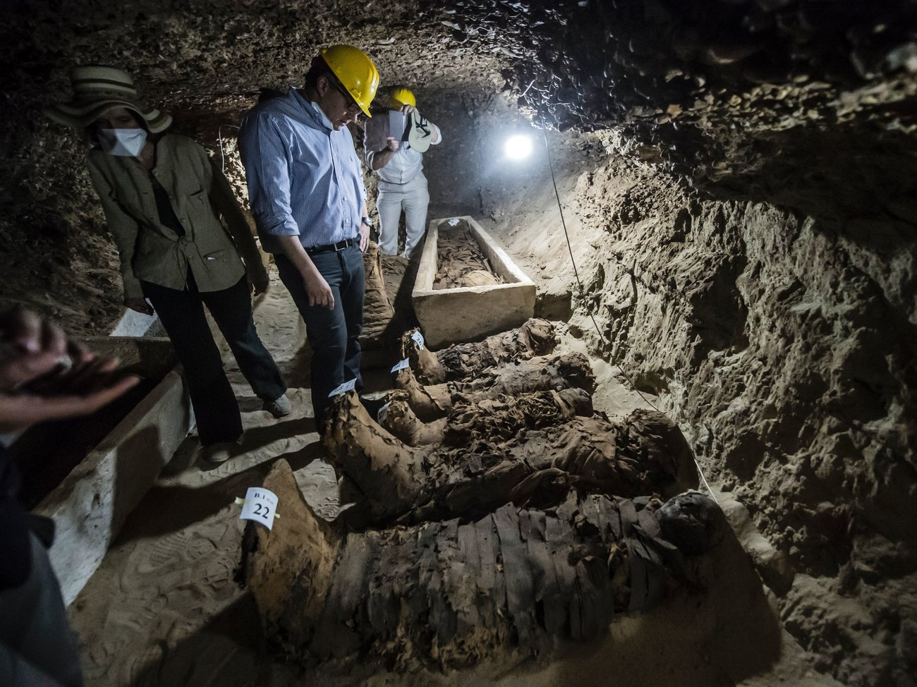 17 Mummies Unearthed In Egypt