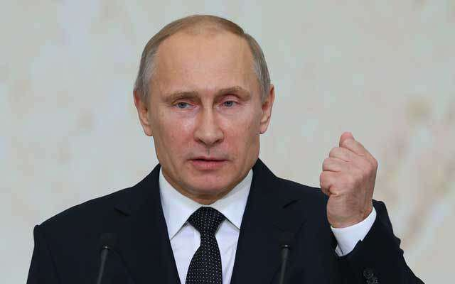 Vladimir Putin warns of a new arms race with America