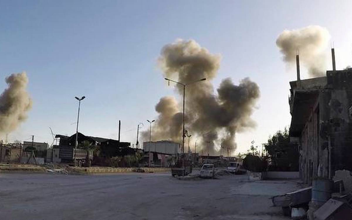 Syria accuses Israel of carrying out strike, 2nd this week