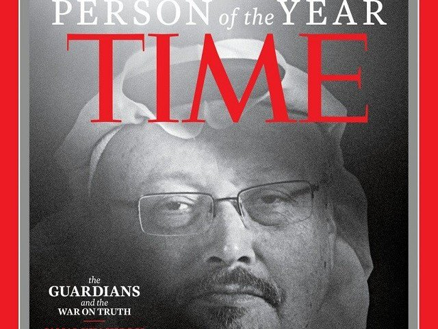 Khashoggi, other journalists named Time