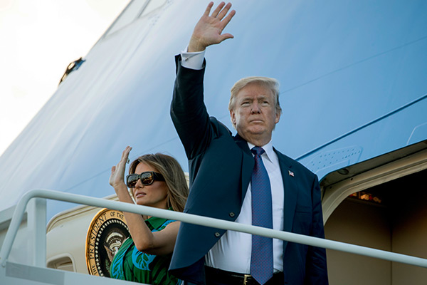 Trump embarks on 4-day visit to Japan