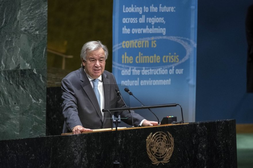 On 75th anniversary of UN, Secretary-General Antonio Guterres appeals for peace
