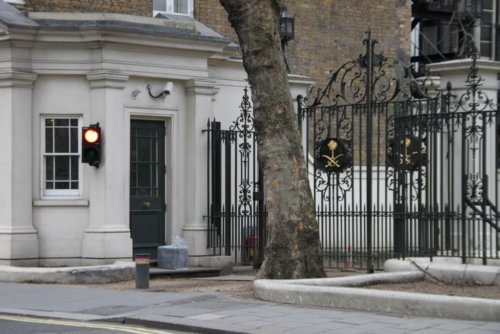 Saudi Embassy issues warning over London acid attacks