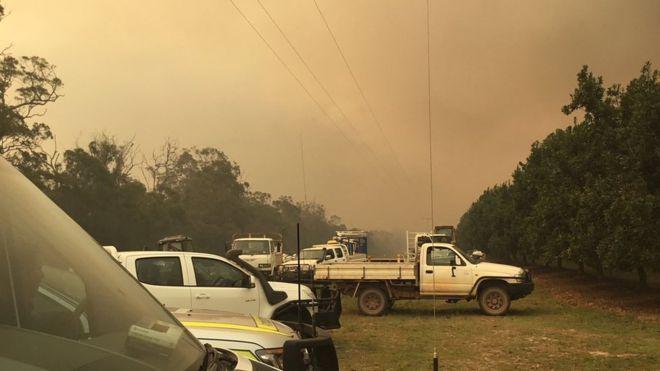 Queensland bushfires: Evacuations amid