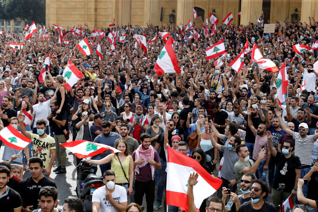 Lebanon paralysed by nationwide protests