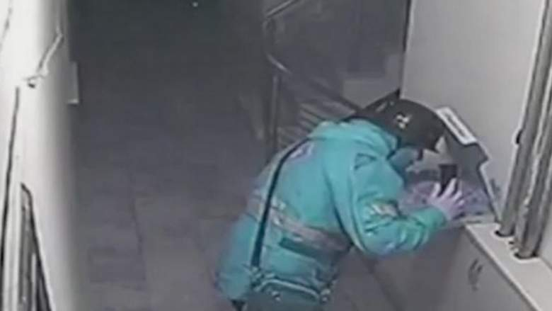 Pizza delivery boy faces 18 years in jail for spitting on customer