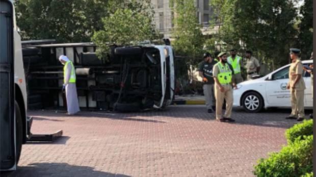 Passenger killed on Dubai Palm Jumeirah