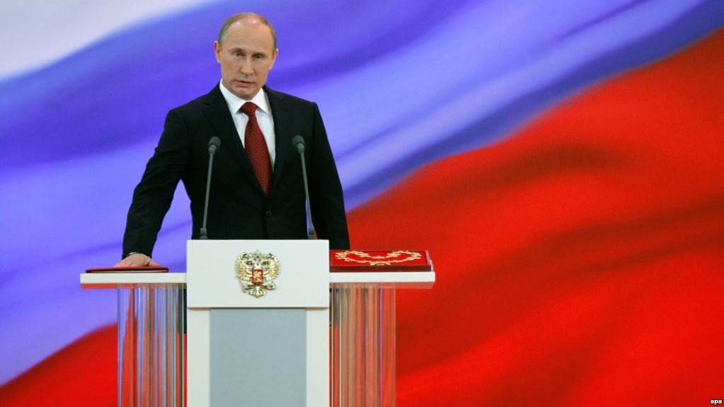 Vladmir Putin to be sworn in as President of Russia today
