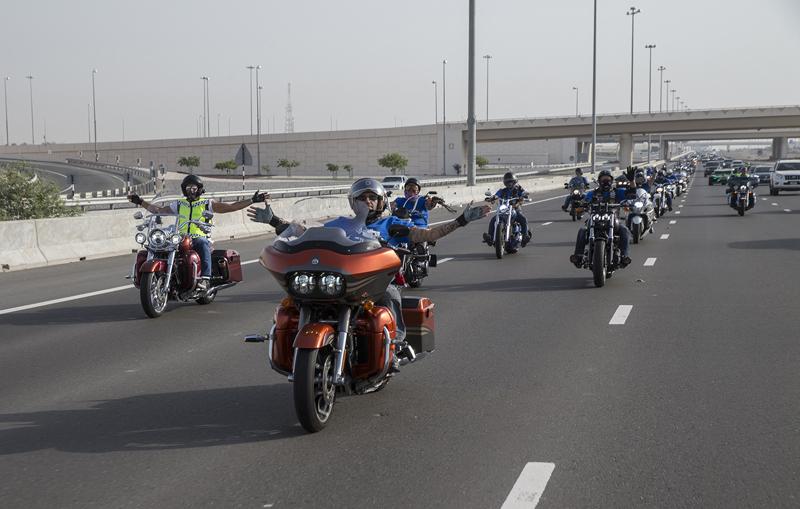 Anti-terror motorbike parade to swarm Riyadh streets