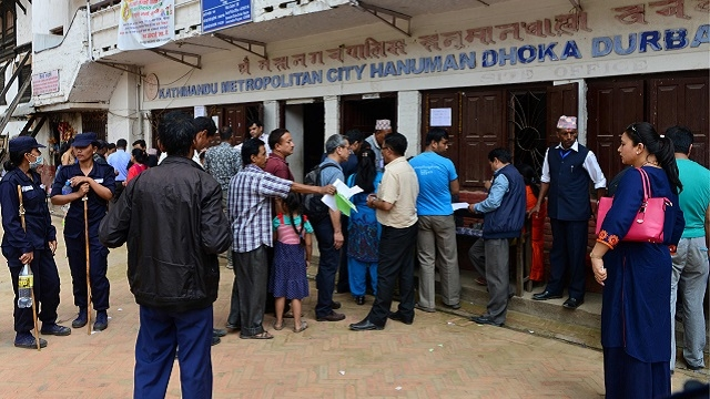 Nepal begins voting in local polls, for first time in 20 years