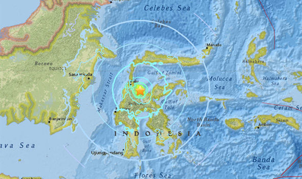 Earthquake measuring magnitude 6.9 hits Indonesia