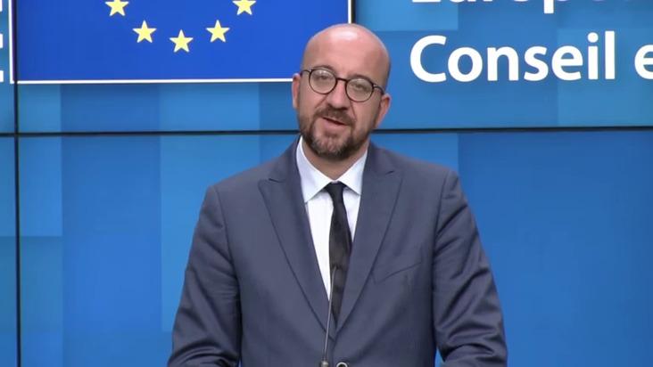 EU Council Chief announces informal video conference over Covid-19