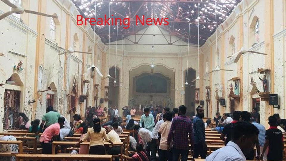 Blasts hit Sri Lanka churches, hotels: police