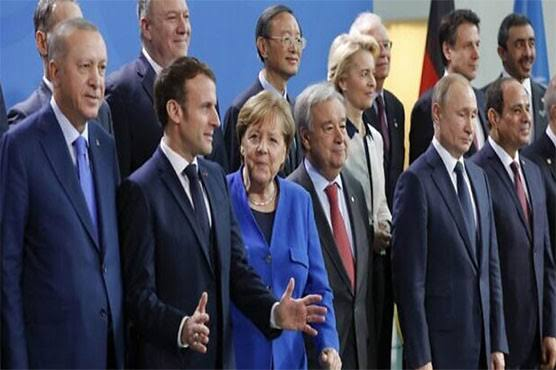 World leaders agree new push for Libya peace