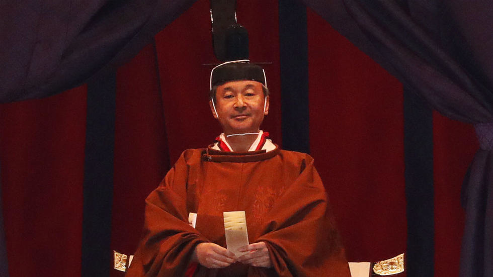 Japanese Emperor Naruhito formally proclaims ascension to throne