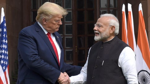 Prez Trump thanks India on decision to allow Hydroxychloroquine export to US.