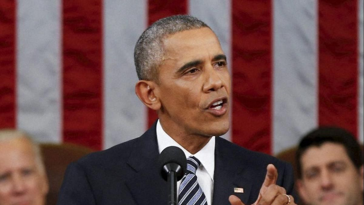 Obama launches searing attack on Trump, appeals voters to elect Biden