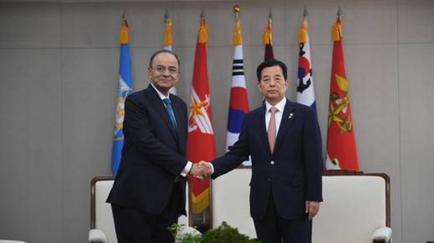 India and South Korea sign up $10 bn development deal
