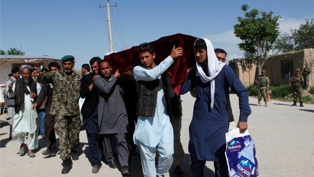 Mazar-e Sharif attack: Afghanistan mourns deadly Taliban assault