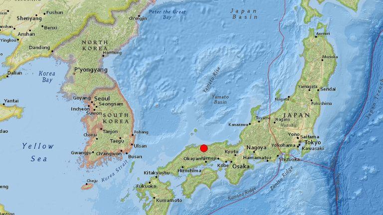 6.6 magnitude quake jolts Japan