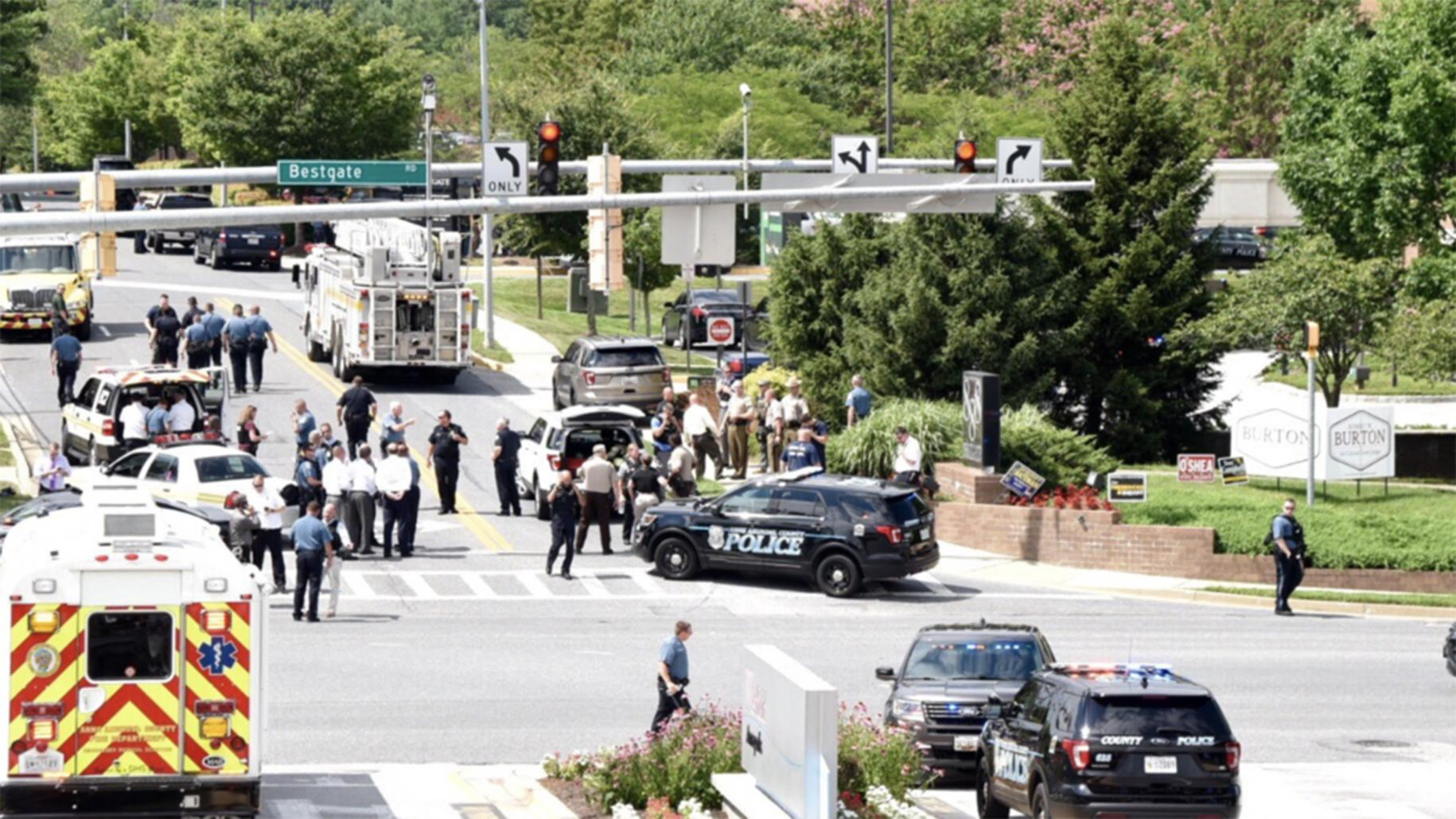 5 people killed in shooting at office of Capital Gazette in US