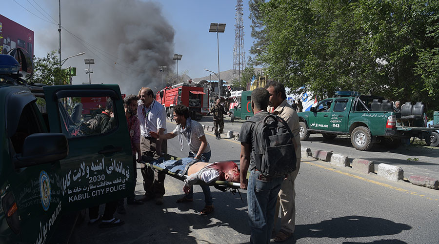 At least 40 people killed in bomb explosion in Kabul