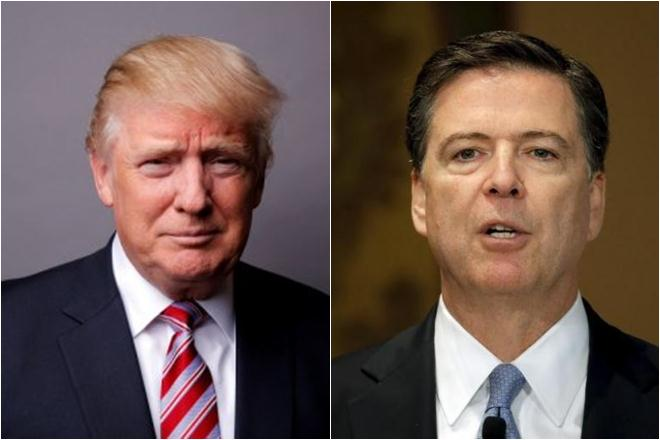 US lawmakers urge Trump to hand over any Comey tapes